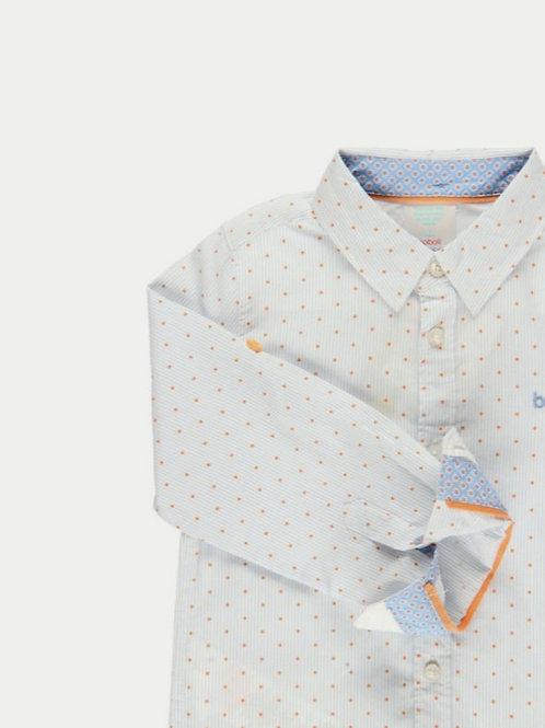 Camisa topitos naranja BOBOLI