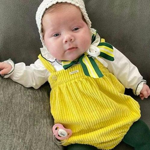 Conjunto bebé con camisa familia Flúor FOQUE