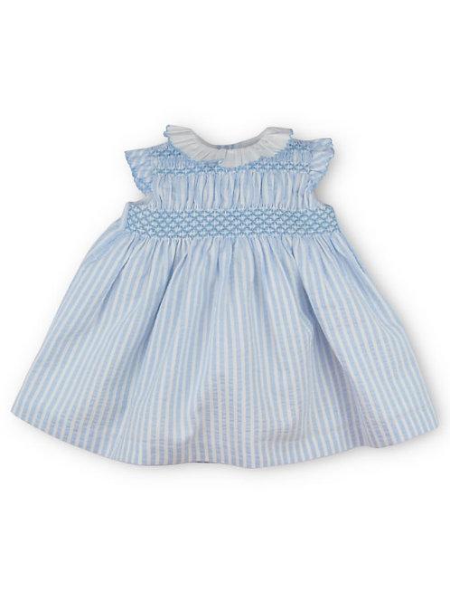 Vestido azul bebé