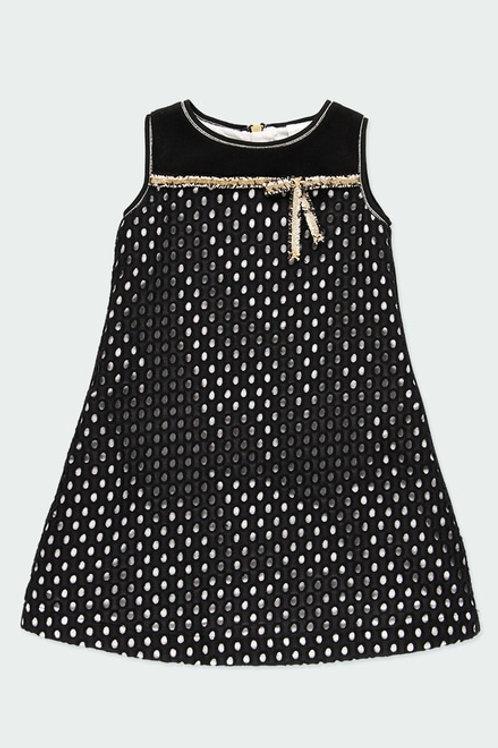 Vestido batista bordado chanel BOBOLI