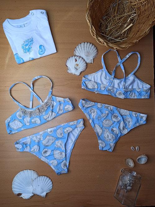 Bikini caracolas