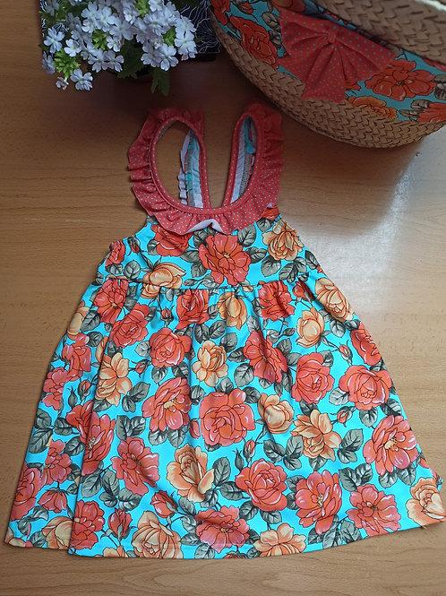 Vestido Colección Ramo de Rosas