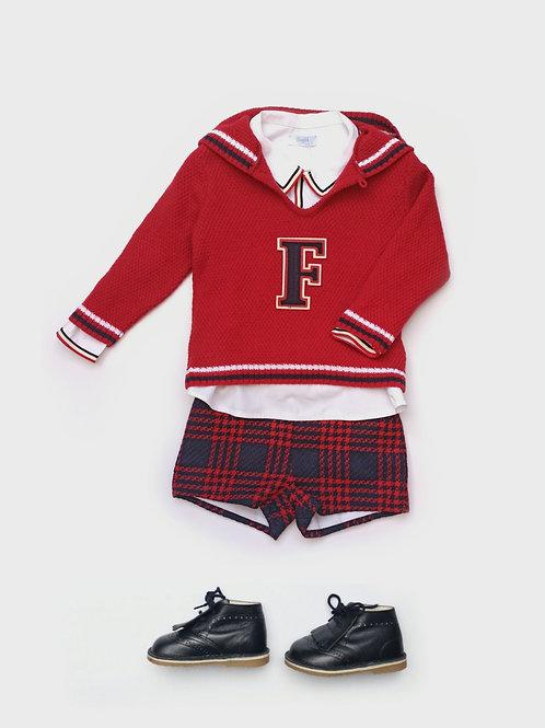 Jersey niño familia Escocesa FOQUE