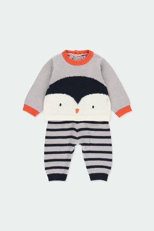 Conjunto Jersey + Pantalón familia Pingüino BOBOLI
