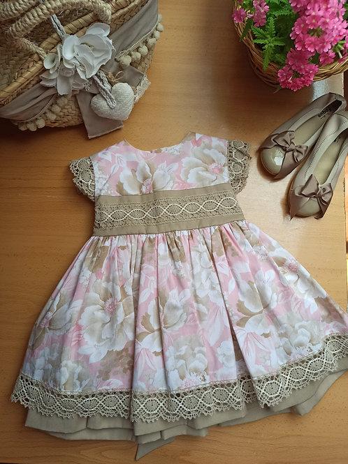 Vestido 2 Colección Flores y Bordados