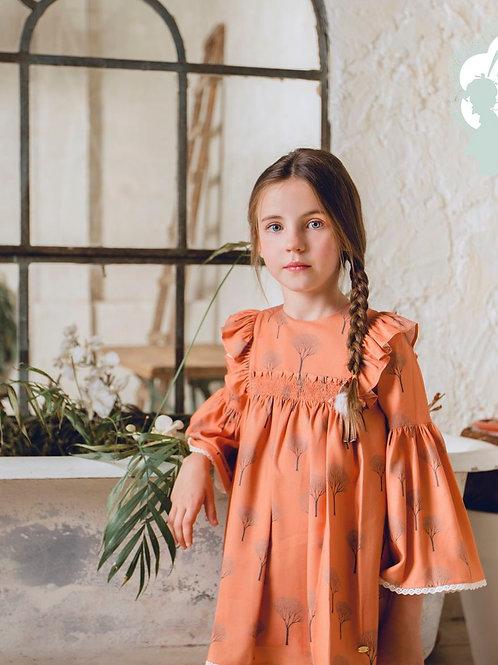 Vestido niña familia Golondrinas MARTA Y PAULA