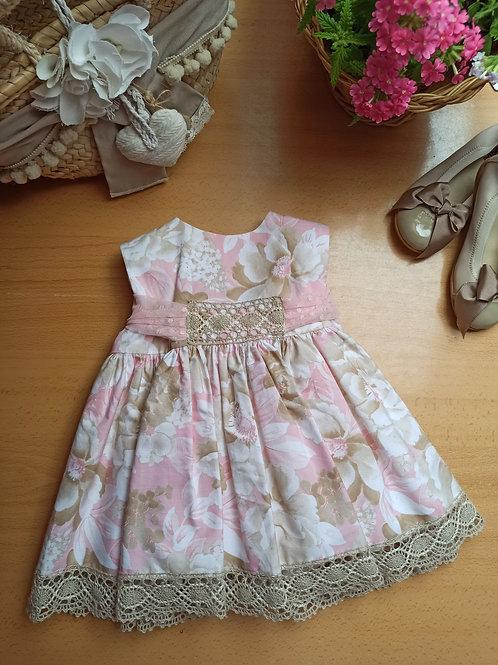 Vestido 1 Colección Flores y Bordados