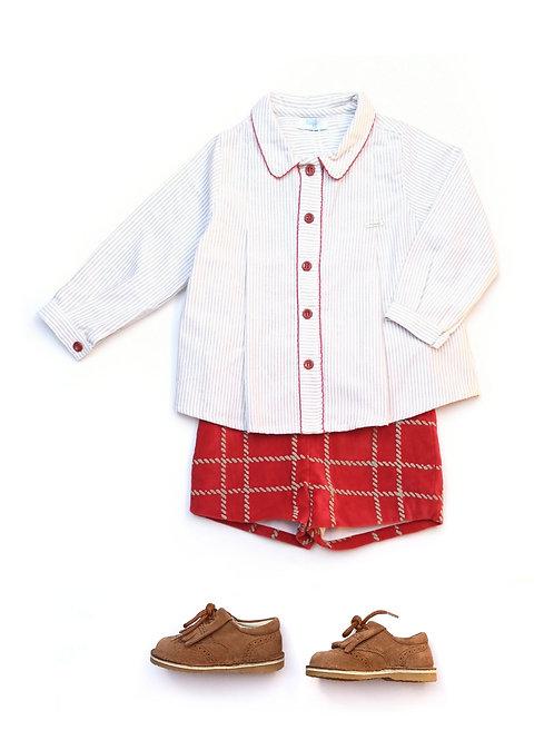 Conjunto niño Camisa + Bermuda familia Cuerda FOQUE