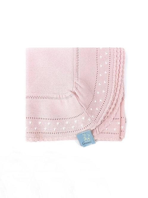 Toquilla punto familia Bodoques rosa GRANLEI