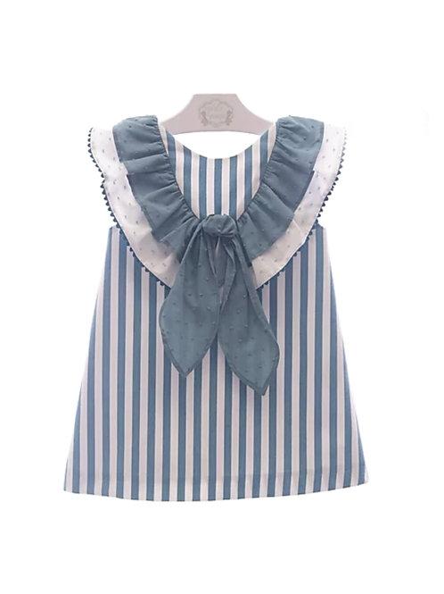 Vestido espalda al aire Colección Marinera