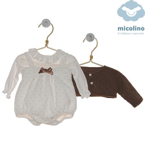 Conjunto tres piezas familia MICOLINO