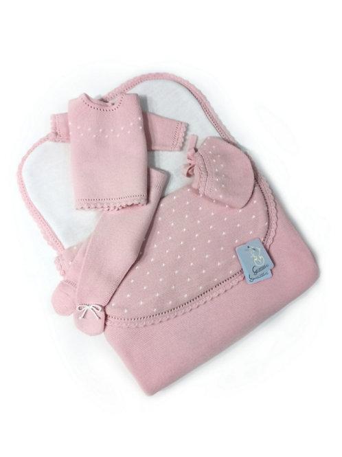 Saco bebé rosa familia Bodoques GRANLEI
