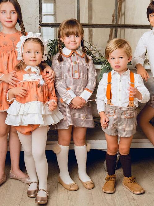 Vestido familia Golondrinas MARTA Y PAULA