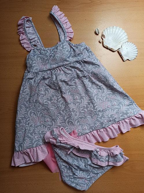 Conjunto Vestido y braguita Colección Cachemir Gris