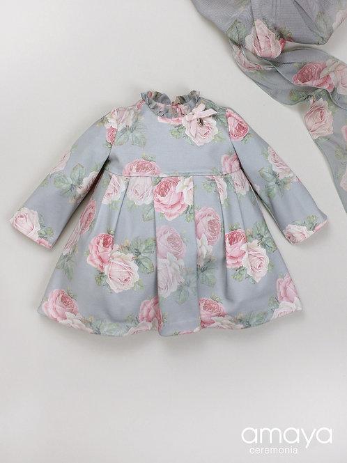 Vestido bebé familia Rosas AMAYA