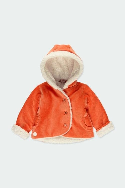 Abrigo pana con forro polar BOBOLI