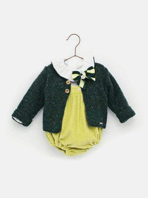 Rebeca bebé verde familia Flúor FOQUE
