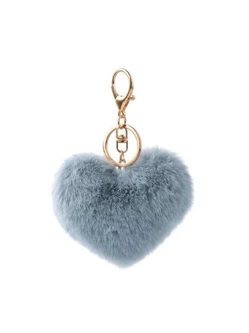 Llavero corazón para bolso