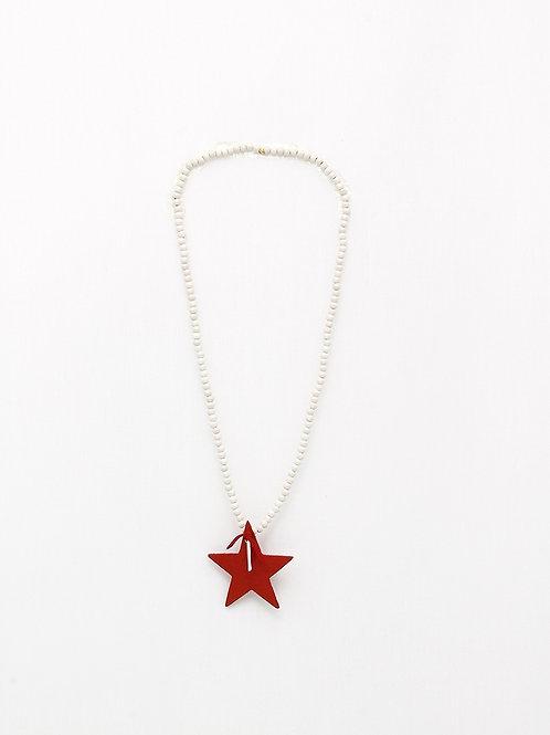 Colgante Estrella Roja FOQUE