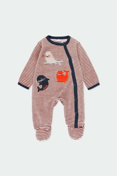 Pijama terciopelo BOBOLI