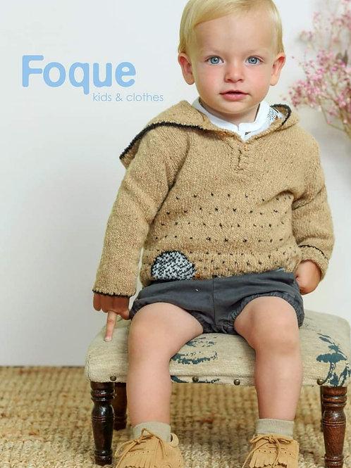 Jersey bebé con capucha familia Erizos FOQUE