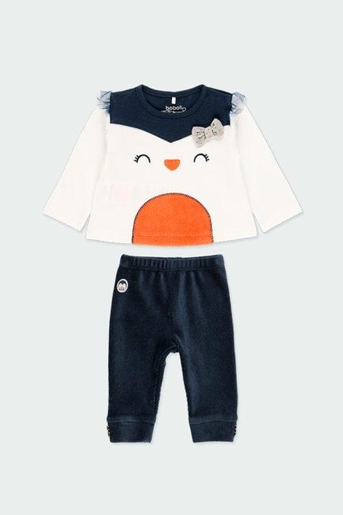 Conjunto Camiseta + Legging familia Pingüino BOBOLI