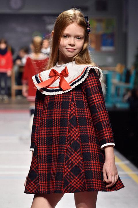 Vestido de niña familia Escocesa FOQUE