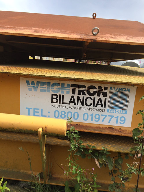 Weightron Bilanciai Weigh Bridge