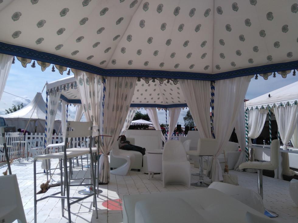 Pavilion, light lining