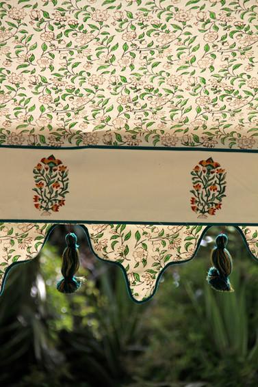 Conservatory lining close up