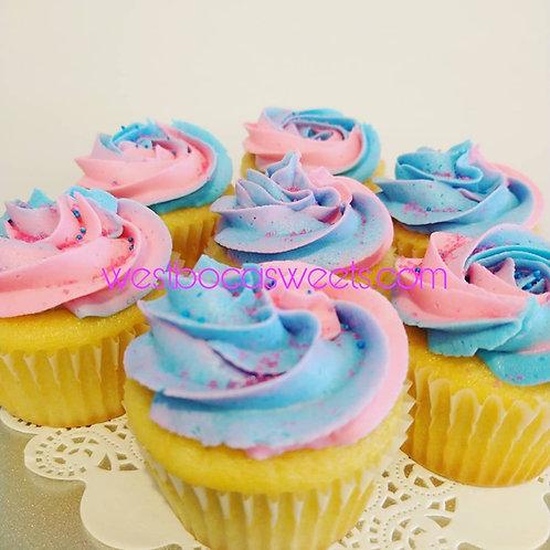 Gender Reveal Cupcakes - 12