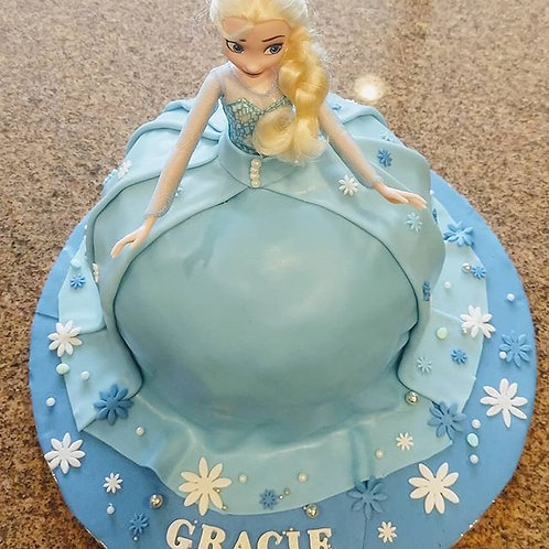 Elsa Princess Cake Inspired