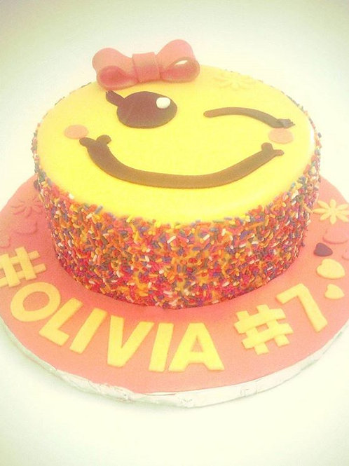 Emoji Inspired Cake