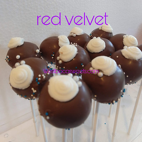 Chocolate Cake Pops -12