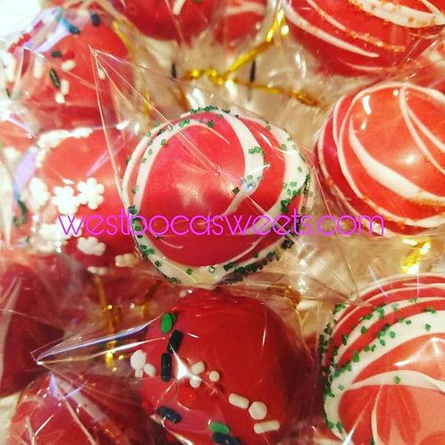 Christmas Cake Pops - 12