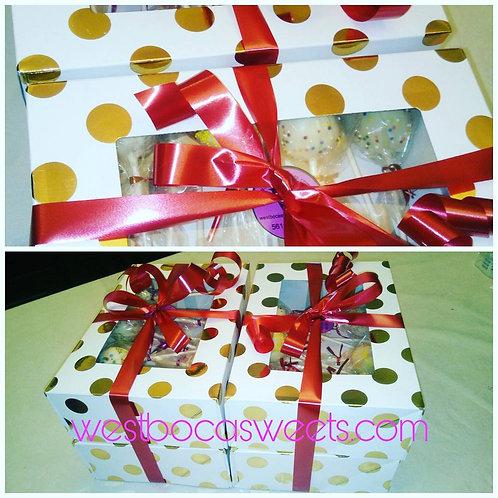 Assortment Cake Pops Favors - 12