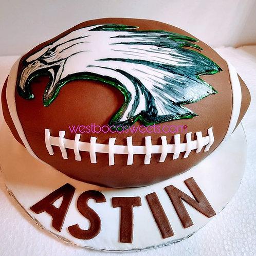 Philadelphia Eagles Inspired Cake