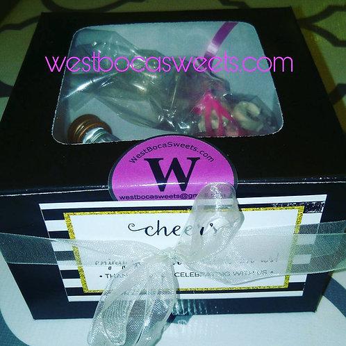 Bridal Shower Cake Pops Favors - 12