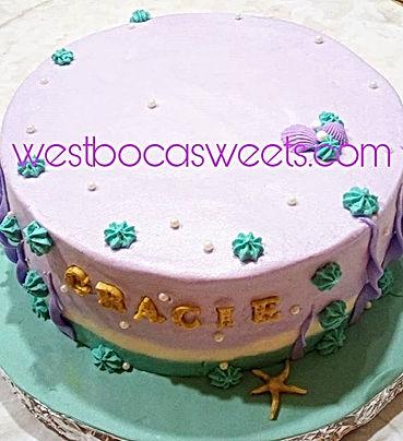#mermaidcake #vanilla #westbocasweets #c