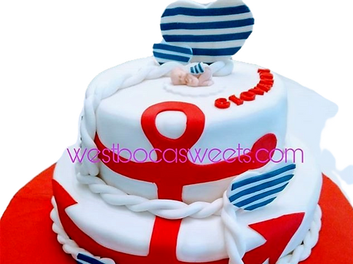 Popeye The Sailor Cake Inspired
