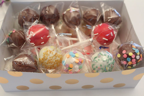 Assorted Cake Pops - 12