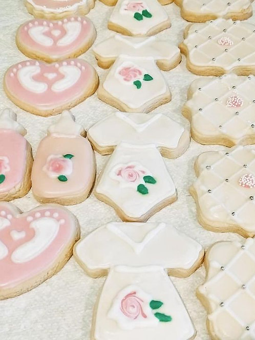 Baby Shower Cookies - 12