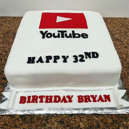 You Tube Inspired Cake