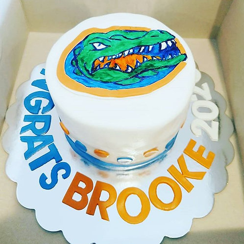 Gator Inspired Cake - Starting at $60