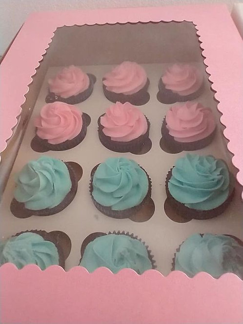 Baby Shower Cupcakes - 12