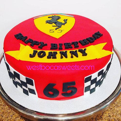 Ferrari Inspired Cake