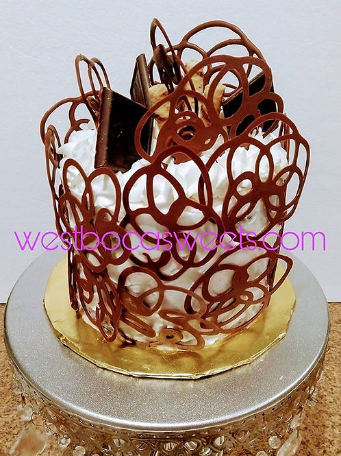 Chocolate Swirl Cake - serves 8-10