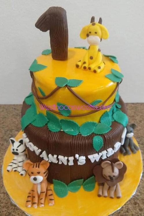 Wild 1 Cake