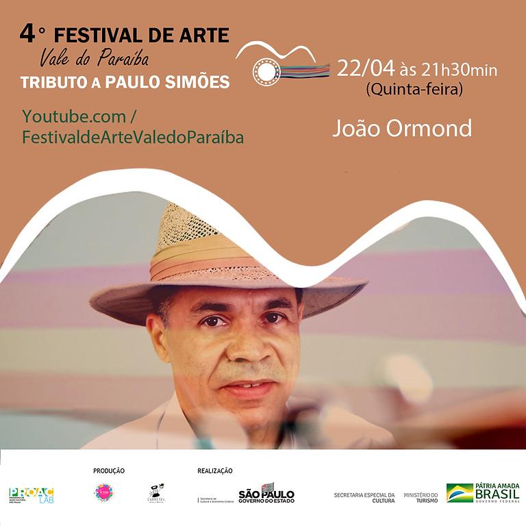 João Ormond  | 4º Festival de Arte Vale do Paraíba