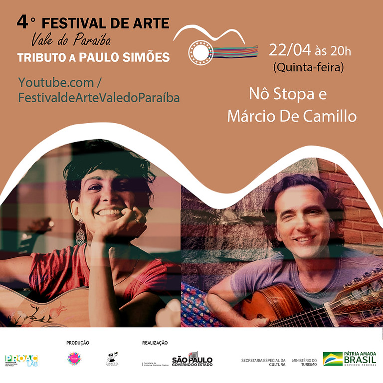 Nô Stopa e Márcio de Camilo | 4º Festival de Arte Vale do Paraíba